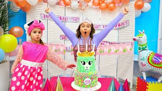 Download lagu Ruby and Bonnie have a Birthday Party Cake