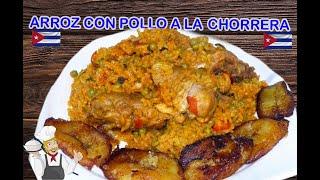 Receta Cubana de Arroz con Pollo a la Chorrera