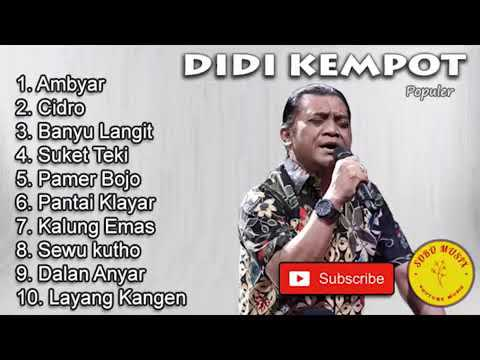 Didi Kempot 2020 Mp3 Sobat Ambyar Youtube