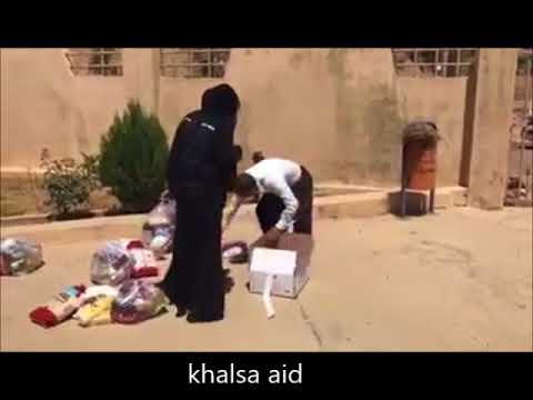 Sikhs Helping Syrian Refugees In Serbia   Khalsa Aid  