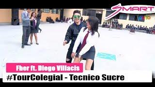 Colegio Tecnico Sucre junto a Diego Villacis I #TourColegial 2017 (Quito-Ecuador)