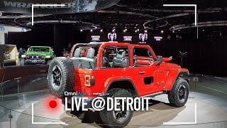 Nuova Jeep Wrangler: come cambia un mito | Salone di Detroit 2018