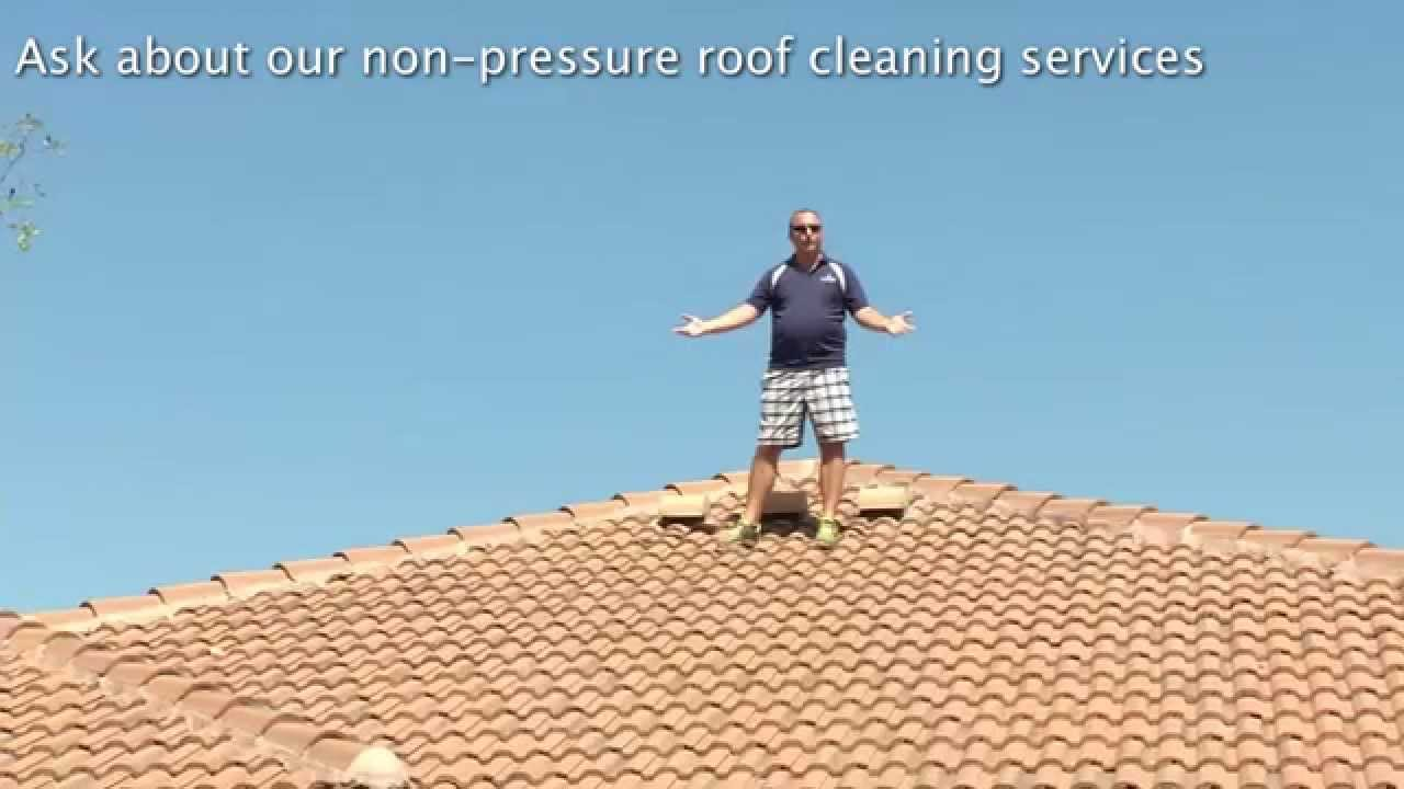 roof cleaning call us at 239 218 5085