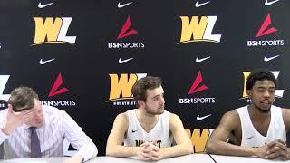 Post Game Presser | Head Coach Ben Howlett, Luke Dyer and Marlon Moore Jr. | W.Va. State 01.10.19