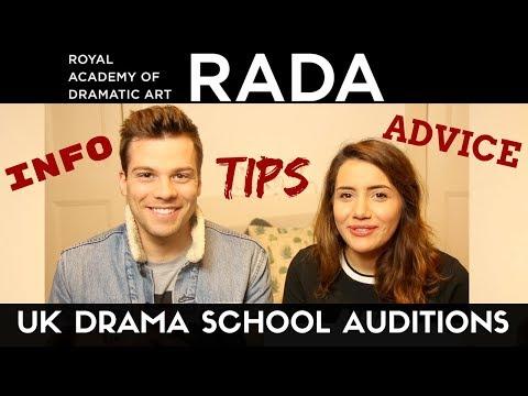 RADA Audition, Recall, & Experience | UK Drama School Tips | Informative & Chatty Video