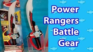 Power Rangers Battle Gear Toy Fair Preview