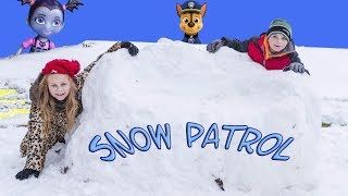 Assistant and BatBoy Snow Patrol Hunt For Paw Patrol Toys