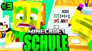 Meine 1. KLASSEN ARBEIT?! - Minecraft SCHULE #03 [Deutsch/HD]