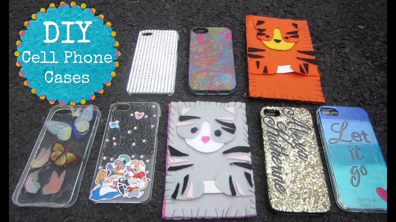 DIY IPhone Cases/Covers! Cute, Easy, Inexpensive & Fun to ...