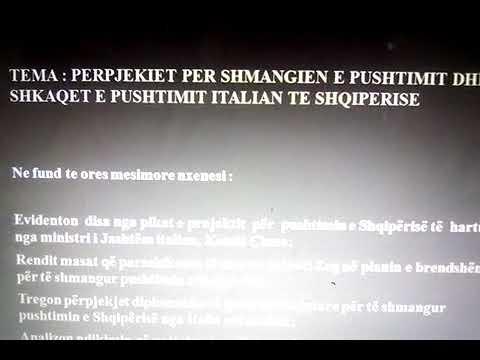 Download Tema : Perpjekjet per shmangien e pushtimit dhe shkaqet e pushtimit italian ne Shqiperi