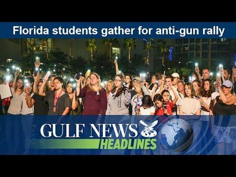 Florida students gather for anti-gun rally - GN Headlines