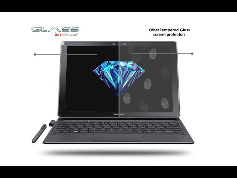 "TECHGEAR® Samsung Galaxy Book 12"" Inch Tempered Glass Premium - Test"