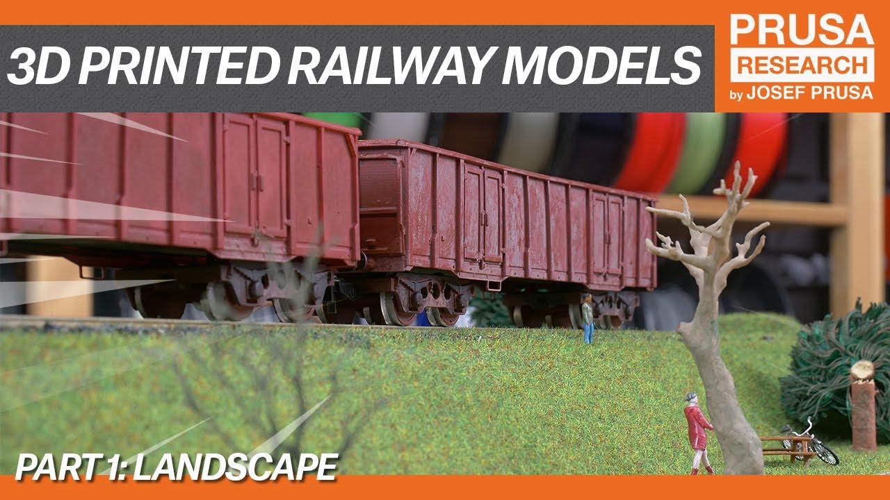 3D printed railway models, part I: Landscape - Prusa Printers