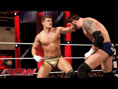 Cody Rhodes vs. Wade Barrett: Raw, July 29, 2013