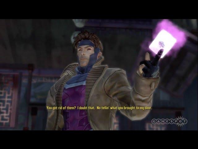X-Men: Destiny - Gambit Boss Battle (Xbox 360)
