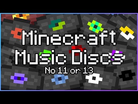 All Minecraft Music Discs (No 11 or 13)