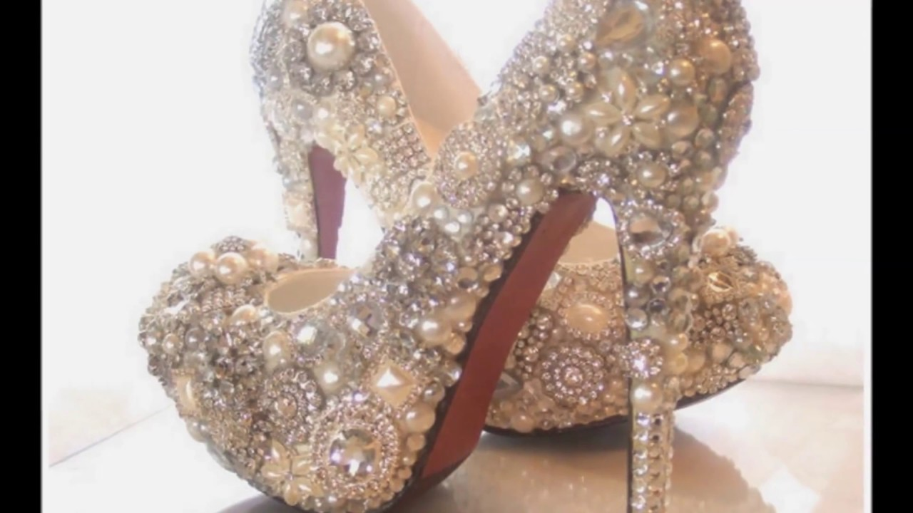 5038a4f67 أروع احذية للعرائس الجدد - تشكيلة رائعة و شيك - YouTube
