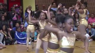 Junior Stand Battle and call out The Golden Dancerettes versus Something Untouchable Dance Company