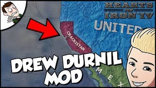 Creating a Drew Durnil Empire on Hearts of Iron 4 HOI4 Mod Gameplay