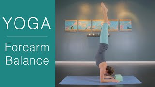 Yoga Poses: How to do Forearm Balance with 3 variations