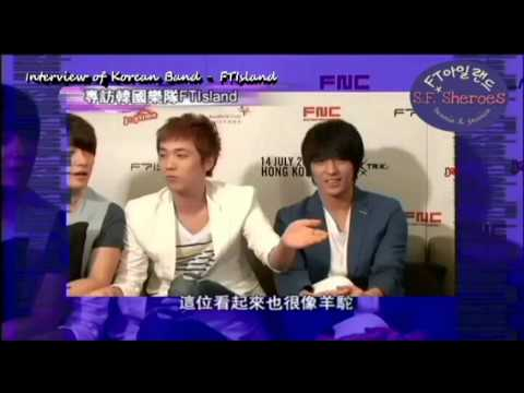 [ENG SUB] 120729 FTIsland The Interview In Hong Kong
