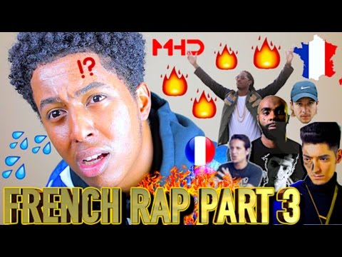 FIRST REACTION TO FRENCH RAP/HIP HOP PART 3