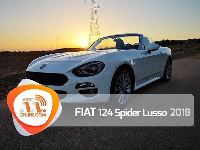 Fiat 124 Spider 2018 / Al volante / Prueba dinámica / Review / Supermotoronline.com