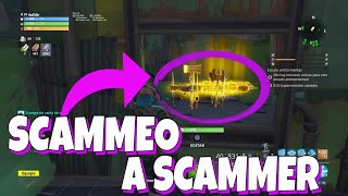 😡*SCAMMER TONTO* us **SCAMEA** and RIE OF US!😵 . With Mortal vfx Fortnite Save the World
