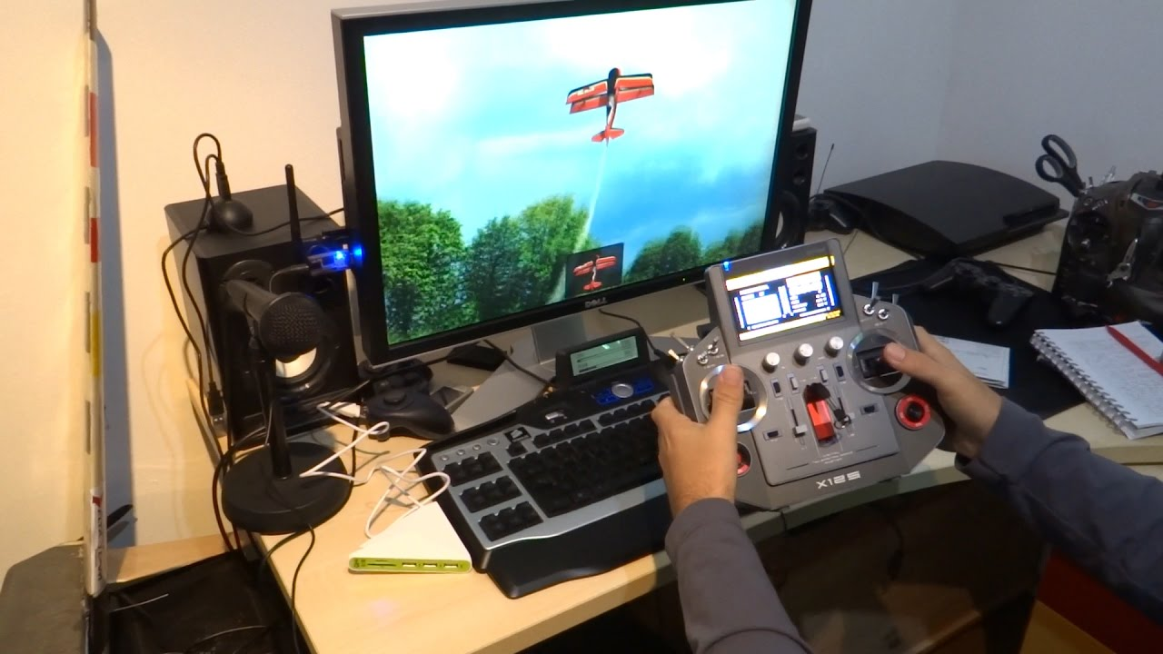 Frsky Horus on Phoenix RC simulator - - vimore org