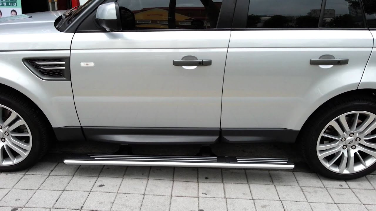 Range Rover Sport Deployable Electric Side Step Install