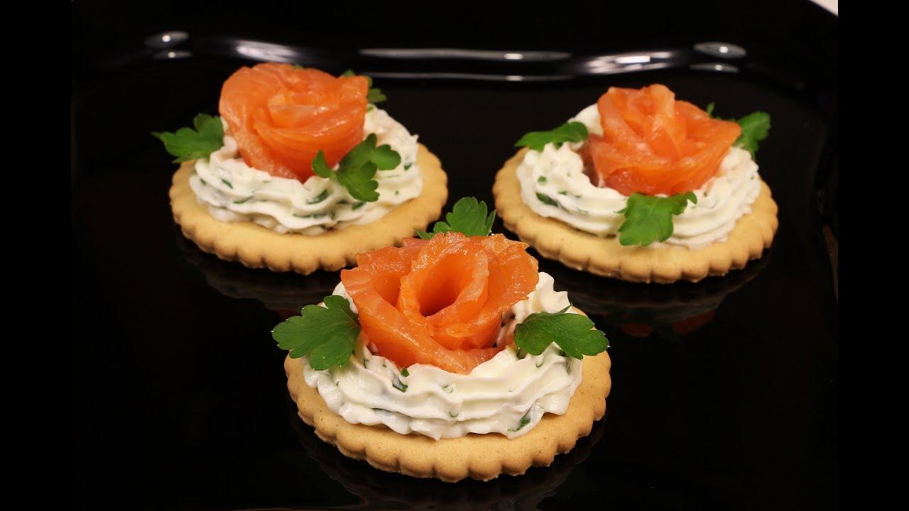 Шикарная Праздничная Закуска За Минуты!!! Розочки Из Красной Рыбы - Это Красиво и Вкусно!