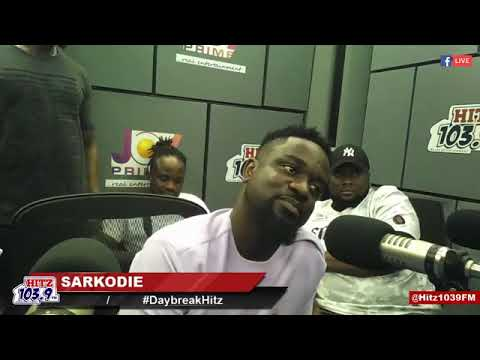"""Sarkodie talks about his difficult Childhood, How He Met His wife Tracy and More"""
