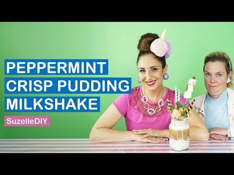 How To Make A Peppermint Crisp Pudding Milkshake