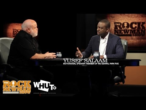 Yusef Salaam on The Rock Newman Show