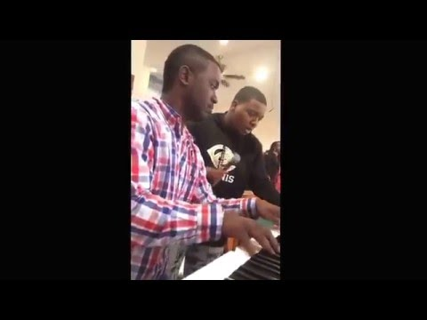 """""""What He's Done For Me"""" sung  by Vision & Ralph Jr.  #lisaknowles #Sunday #2016"""