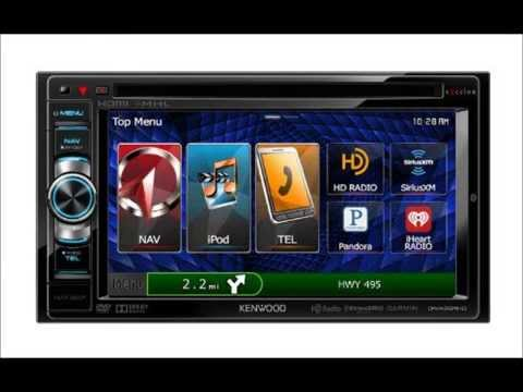 kenwood dnx 691hd 2 din navigation system with bluetooth and hd radio youtube. Black Bedroom Furniture Sets. Home Design Ideas