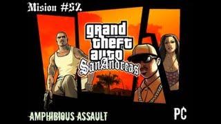 ||GTA San Andreas|| [PC] |Mision #52| |Amphibious Assault| Consiguiendo capacidad pulmonar