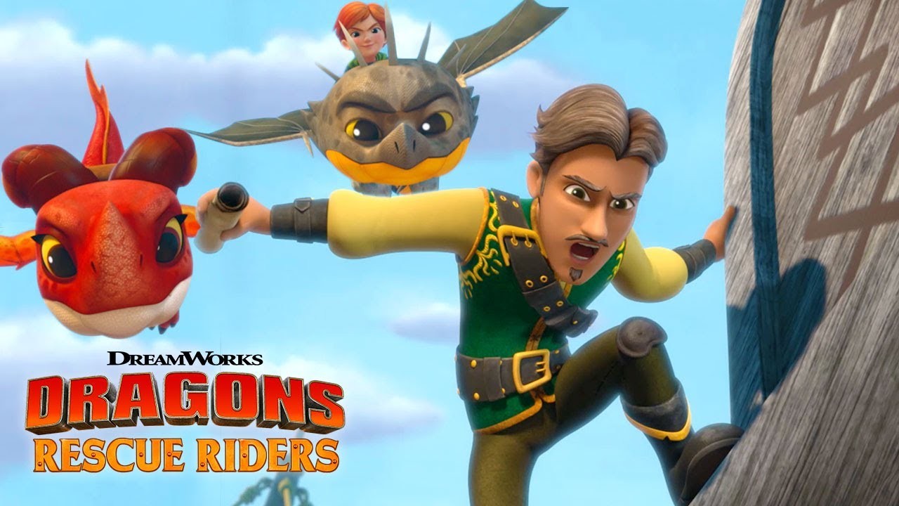 Tricking The Pirates Dragons Rescue Riders Hunt For The Golden Dragon Youtube
