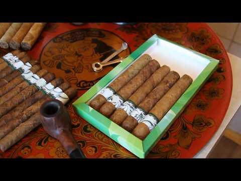 «2019 – новогодние сигары из своего табака»