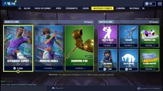 BOUTIQUE FORTNITE OF APRIL 10, 2019 - FOOT SKIN