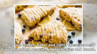 Blueberry Scones from Everyday Vegan Eats -