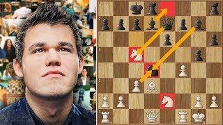 Too Weak, Too Slow! Magnus Carlsen Trash-talking Like a Boss