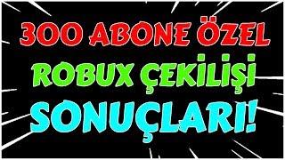 300 ABONE ÖZEL ÇEKİLİŞ'İN SONUÇLARI!