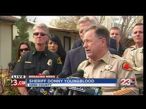 Kern County Sheriff's Department's Donny Youngblood, GOP Whip Kevin McCarthy press conference Taft H