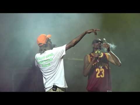 Snoop & Wiz  That Good  8142016 Cleveland