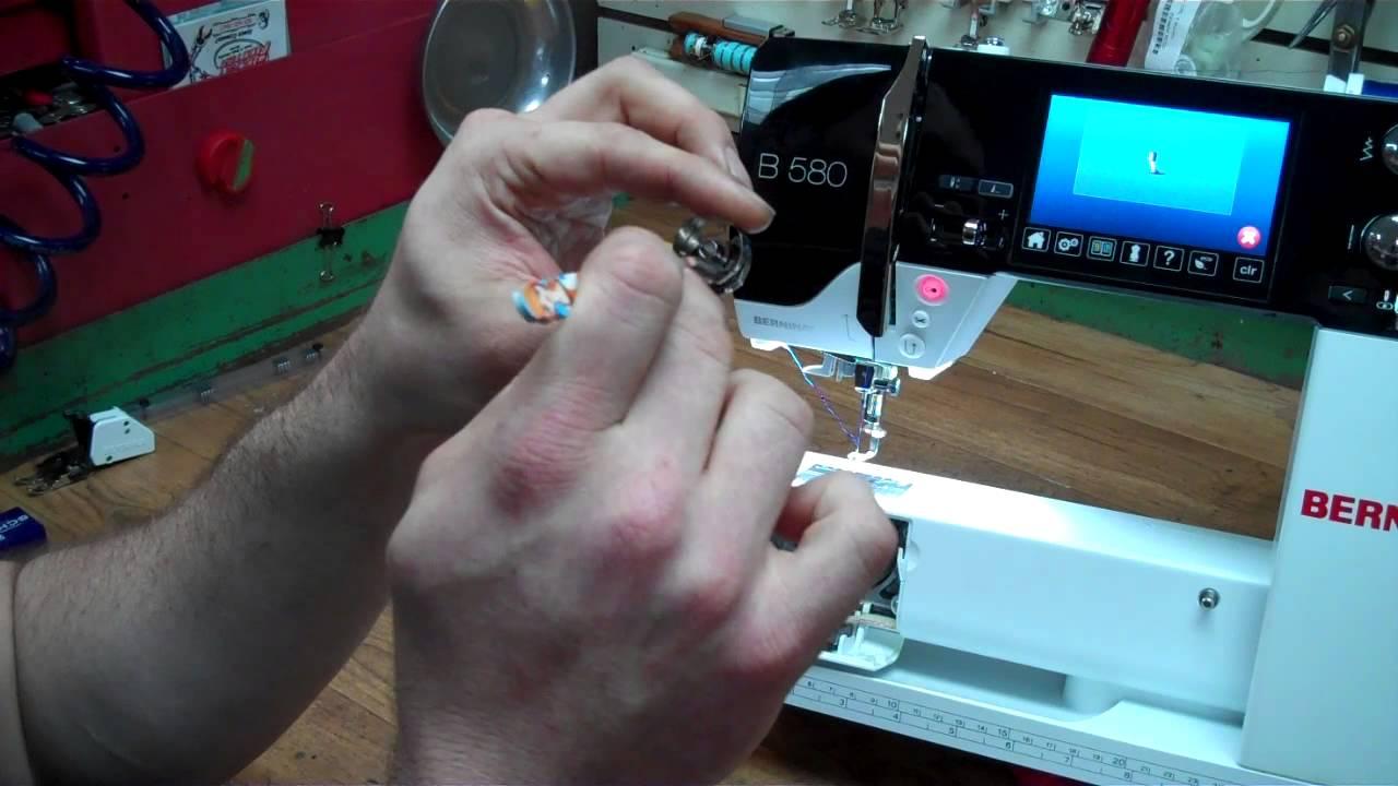 Bernina Bobbin Thread Sensor Error - Check Upper or Lower Thread