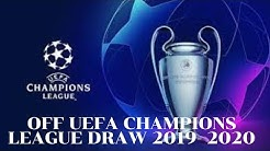 Play Off UEFA Champions League Draw 2019-2020|| 17:00'