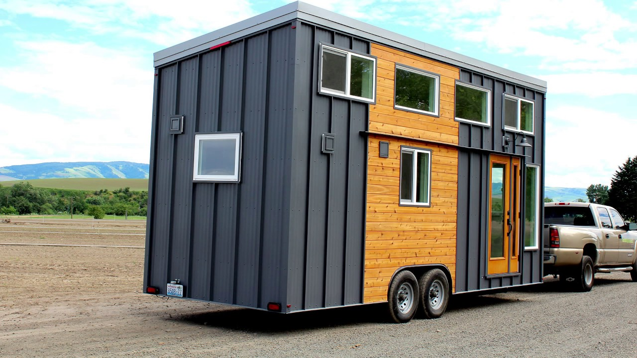 Tiny Home Designs: The Dewdrop: A Luxury Tiny Home On Wheels-Seattle Tiny