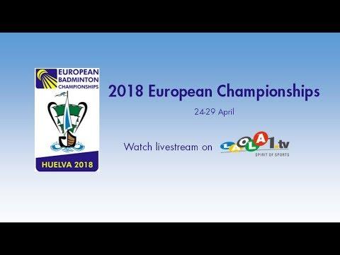 Adcock / Adcock vs Lamsfuss / Herttrich (XD, SF) - European C'ships 2018