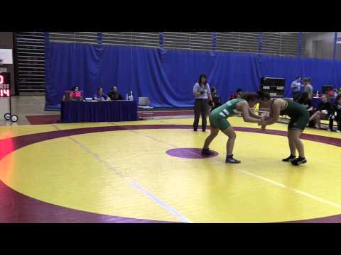 2015 Canada West Championships: 82 kg Megan Nelthorpe vs. Dakoda Sinclair